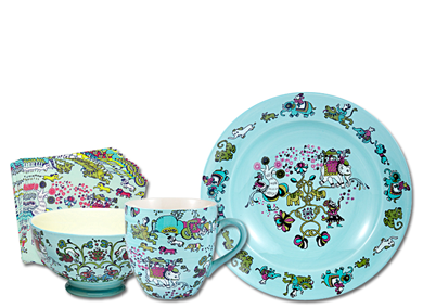 Chen Karlsson Diningware for Indiska